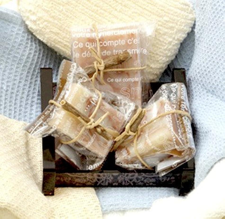 カテナボス賞賛能登ワインを配合した皮膚科医監修の無添加で肌にやさしい「純石けん」能登ワイン石けん〔80g×1、40g×2〕