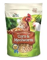 Manna Pro Corn & Mealworm Snack Blend Treats 2 lb [並行輸入品]