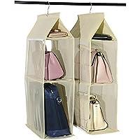 SD ハンガークローゼット バッグ ディスプレイ 鞄 カバン 収納 おしゃれ ラック 棚 シェルフ 家具 服 リュック HANCLOZ(ベージュ) HANCLOZ-BE