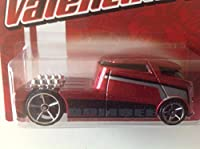 Hot Wheels Valentine's Qombee Red