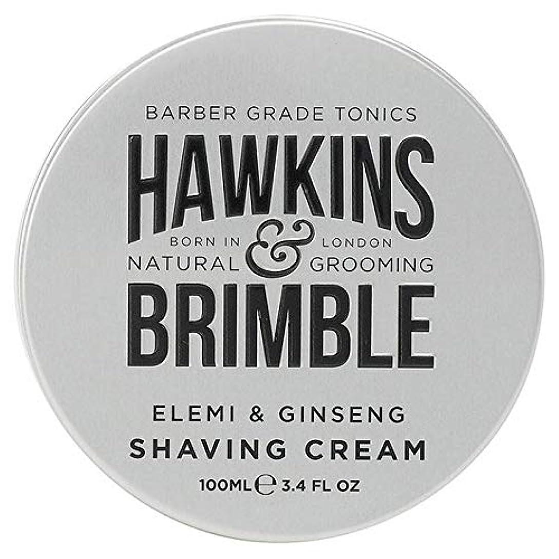 何故なの傑出した記者[Hawkins & Brimble] ホーキンス&Brimbleシェービングクリーム100ミリリットル - Hawkins & Brimble Shaving Cream 100ml [並行輸入品]