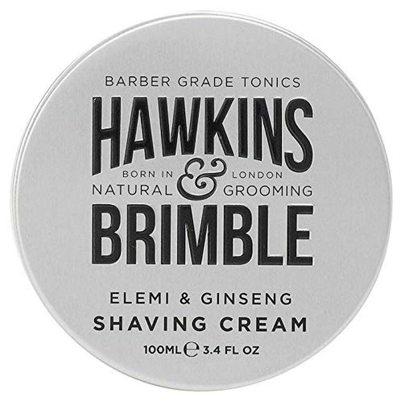フルーティー一握り不十分[Hawkins & Brimble] ホーキンス&Brimbleシェービングクリーム100ミリリットル - Hawkins & Brimble Shaving Cream 100ml [並行輸入品]