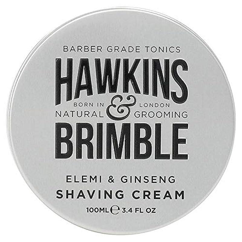 リーガン溶けたリーチ[Hawkins & Brimble] ホーキンス&Brimbleシェービングクリーム100ミリリットル - Hawkins & Brimble Shaving Cream 100ml [並行輸入品]