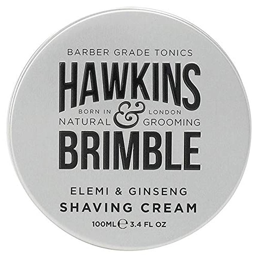 ナビゲーションおいしい玉ねぎ[Hawkins & Brimble] ホーキンス&Brimbleシェービングクリーム100ミリリットル - Hawkins & Brimble Shaving Cream 100ml [並行輸入品]
