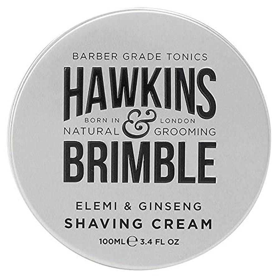 最悪安定リーク[Hawkins & Brimble] ホーキンス&Brimbleシェービングクリーム100ミリリットル - Hawkins & Brimble Shaving Cream 100ml [並行輸入品]