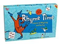 Dr. Seuss Rhyme Time: A Game of Rhyming and Poetry