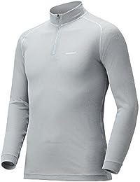 モンベル(mont-bell) ジオラインL.W.ハイネックシャツ Men's 1107488 (XL LTSV ライトシルバー)