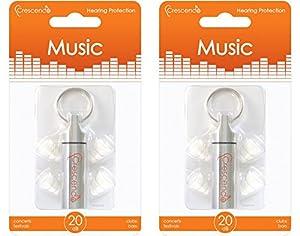 Crescendo Music イヤープロテクター 耳栓 2個セット
