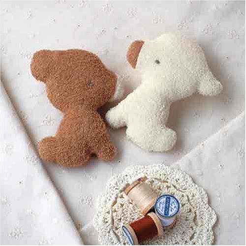 (ハマナカ) ベビー 赤ちゃん おもちゃ の 手作りキット にぎにぎ くまとこやぎ (2点1組) ※オーガニックコットン 使用