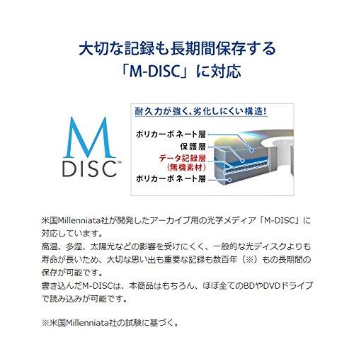 ブルーレイドライブ 外付型/USB 3.0/BDXL/M-DISC/16倍速高速書き込み BRD-UT16WX 8枚目のサムネイル