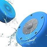 AOOE 防水 ポータブルBluetooth4.0スピーカー/防水吸盤式/アウトドアスピーカー/5wドライバ/10時間連続再生/ハンズフリー/全てのBluetooth4.0設備など対応(青い)