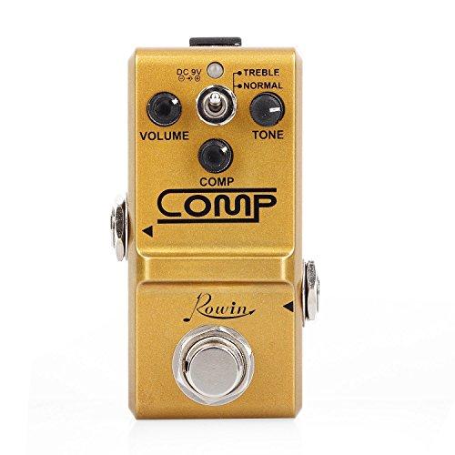 Rowin Comp Pedal コンプレッサー トゥルーバイパス LN-333