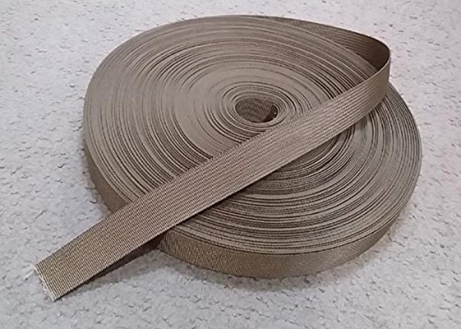 最も早い慈善ジャンプモールテープ Nylon Webbing (25mm) Coyote Brown 5メートル