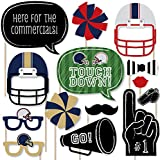 Super Bowl Party - Photo Booth Props Kit - 20 Count