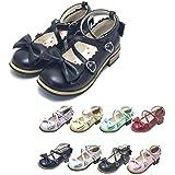 ロリィタ靴 トリプルリボンパンプス マットカラー