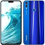 """Huawei Honor 8X 4GB/128GB 4G LTE Dual Sim 20MP 6.5"""" (Blue)"""