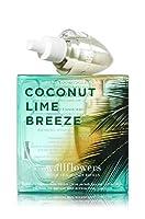 【Bath&Body Works/バス&ボディワークス】 ホームフレグランス 詰替えリフィル(2個入り) ココナッツライムブリーズ Wallflowers Home Fragrance 2-Pack Refills Coconut Lime Breeze [並行輸入品]