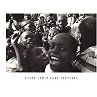 Guy Le Querrec-Saint Louis Jazz Festival-Poster