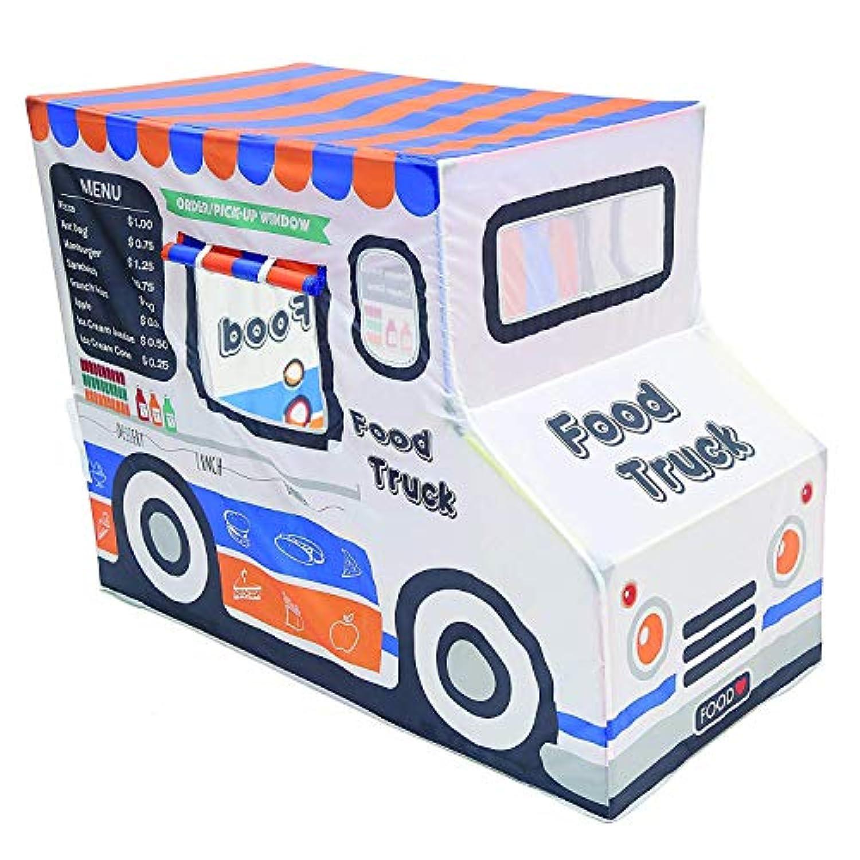 [(パシフィックプレイテント) Pacific Play Tents] [Pacific Play Tents 子供用ポリエステル食品トラックプレイハウス 67110 Kids Polyester Food Truck Playhouse, 50` x 36` x 29.5`] (並行輸入品)