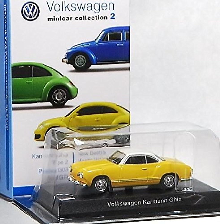 京商 フォルクスワーゲン ミニカーコレクション 2 単品 1/64 サークルK サンクス 限定 VW Volkswagen カルマンギア Karmann Ghia イエロー