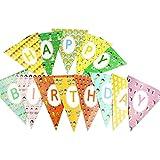 パーティーバナー子供のための旗旗幼稚園の装飾子供のパーティー,B