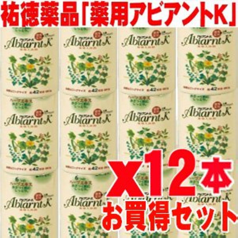 ガラガラ販売員しゃがむアビアントK 薬用入浴剤 850gx12本 (総合計10.2kg)4987235024123