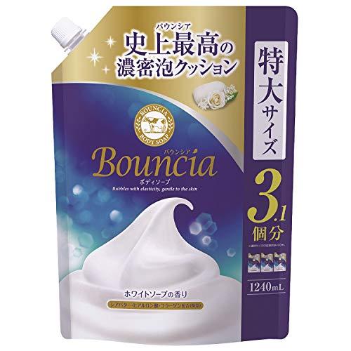 バウンシアボディソープ 清楚なホワイトソープの香り 1240ml 詰め替え用
