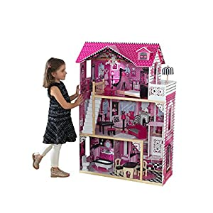 KidKraft Amelia Doll House 【おもちゃ 女の子 ままごと ドールハウス 木製】 キッドクラフト アメリアドールハウス 正規品