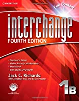 Interchange Level 1 Full Contact B with Self-study DVD-ROM, 1B. 4th ed. (Interchange Fourth Edition)
