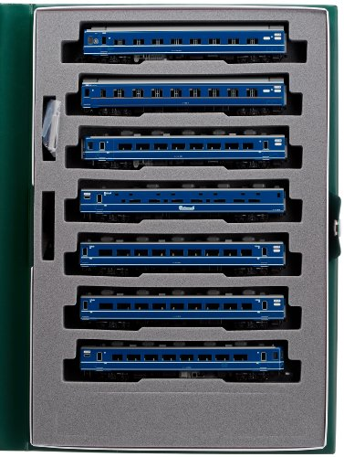 Kato N Calibre Bed Express florecen Basic 7-Car Set 10-1138 modelo del ferrocarril passen