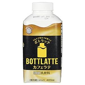 [冷蔵] 雪印メグミルク BOTTLATTE カフェラテ 400ml