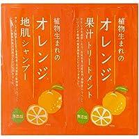 植物生まれのオレンジシャンプー&トリートメントサンプルセット(15ml+15g)