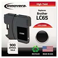 Innovera Remanufactured lc65bkインク、900page-yield、ブラック