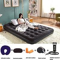 エアマットレス,インフレータブル ベッド,空気マットレスの使用は家庭内、一晩ご友人や親戚に最適です。-B