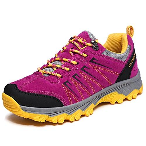 [해외]등산화 남녀 겸용 운동화 하이킹 신발 트레킹 슈즈 큰 사이즈 가을 겨울 등산화 미끄럼 방지 통기성/Mountaineering Shoes Unisex Walking Shoes Hiking Shoes Trekking Shoes Large Size Fall Winter Mountaineering Shoes Anti-Breathability