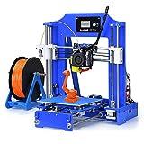 ALUNAR-M518【新出品】DIYコンパクト 3Dプリンターキット 未組立 プリントサイズ150*150*150mm 初心者 高校生 子供プレゼント向き(ブルー)