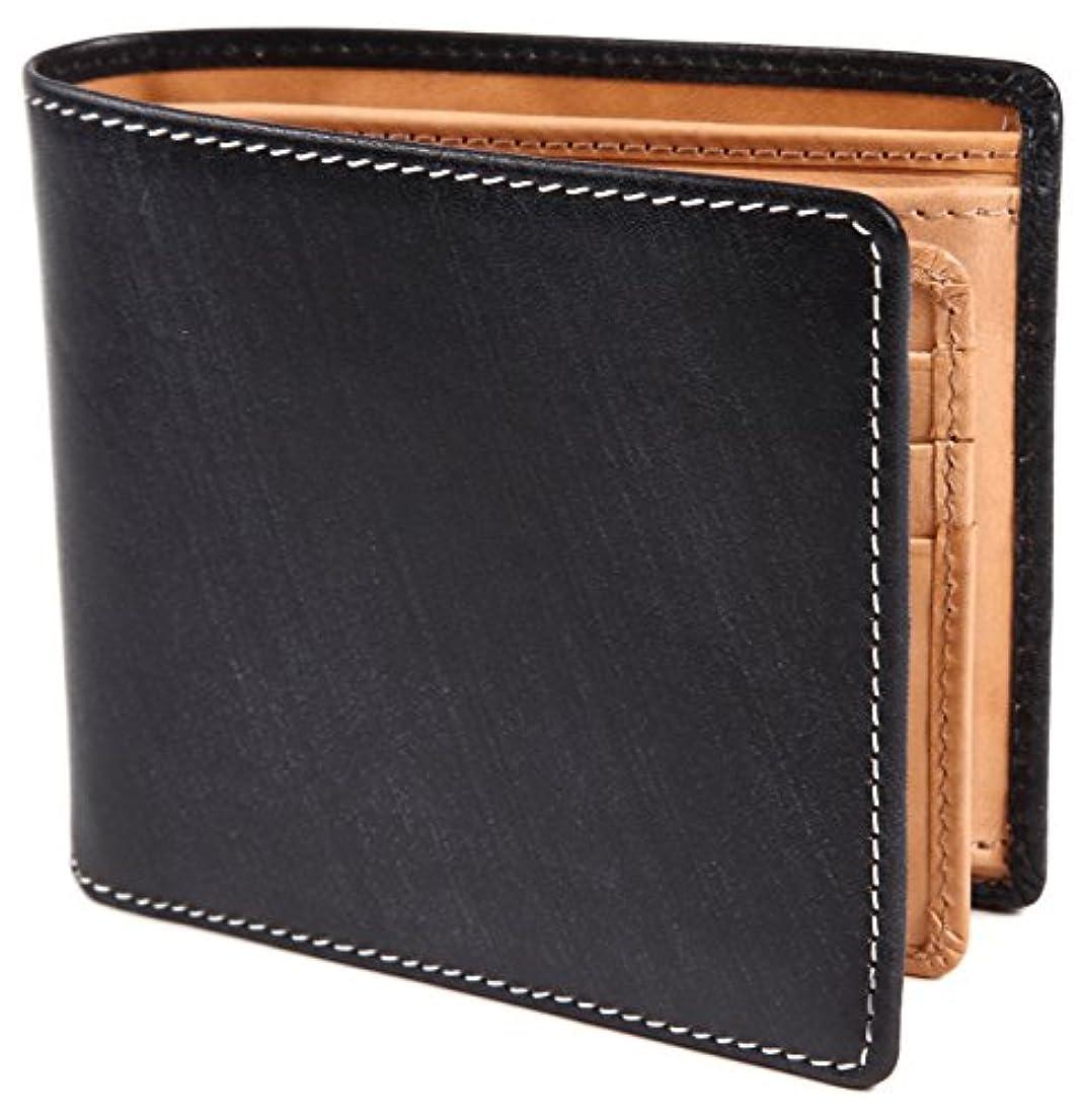 すりヒップ記念日[ポルトラーノ] ブライドルレザー 二つ折り財布 本革 メンズ