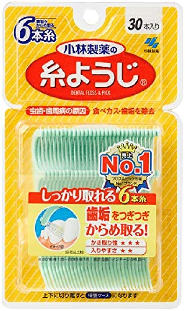 オリエンタル可愛い手段小林製薬の糸ようじ  フロス&ピック デンタルフロス 30本