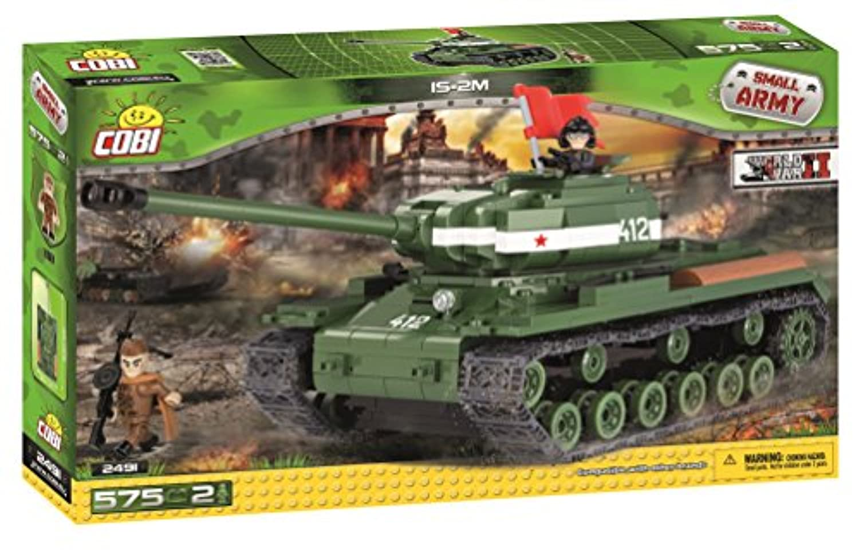 Cobi Small Army ミリタリーブロック WWII #2491 ソビエト軍 IS-2M 重戦車【COBI 日本正規総代理店】