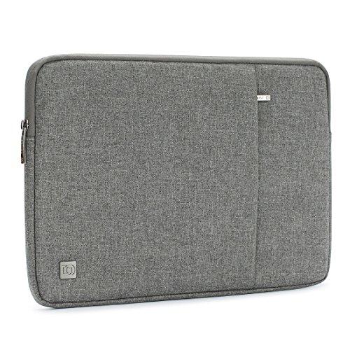 DOMISO 10-10.1インチ Laptop Sleeve ラップトップスリーブ 撥水ケース 9.7インチ iPad Pro / ノートブック用 (グレー)