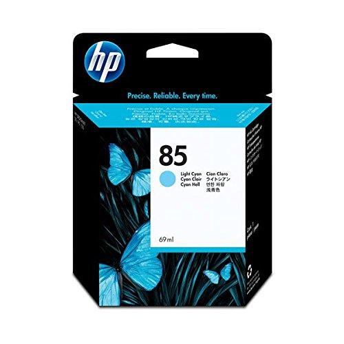 (まとめ) HP85 インクカートリッジ ライトシアン 69...