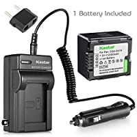 Kastarバッテリーと充電器for Panasonic vdr-d230vdr-d250vdr-d300vdr-d310vdr-m30vdr-m50vdr-m53vdr-m70vdr-m95vdr-m250ビデオカメラとcga-du06cga-du07cga-du14cga-du21バッテリー
