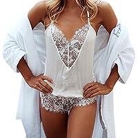 Women Jumpsuit♥Summernet Sleeveless V Neck Sexy Lace Sleepwear Lingeries Clubwear Bodysuit