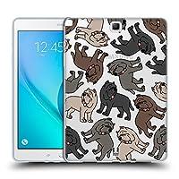 Head Case Designs ナポリタン・マスチフ ドッグブリード・パターンズ7 Samsung Galaxy Tab A 9.7 専用ソフトジェルケース