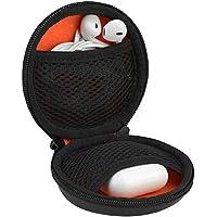 Geekria ケース AirPod JayBird Bose SoundSport Jabra Sport Powerbeats Monster isport スポーツ ワイヤレス Bluetooth イヤホン イヤーホン用 ハードケース 旅行バッグ (ブラック)