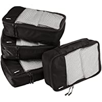 AmazonBasics 4 Piece Small Packing Cube Set