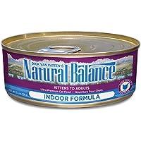 ナチュラルバランス インドア キャット缶 6オンス(170g)×24缶セット
