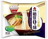 [冷蔵] 紀文 糖質0g麺鶏とかつおの和風だしつゆ付き 麺150g+つゆ付