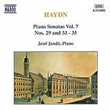 Haydn: Piano Sonatas 29, 33, 34, 35 By Joseph Haydn (Composer),,Jen? Jandš® (Piano) (1998-07-28)