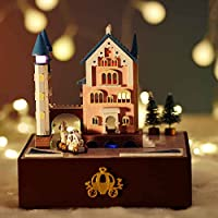 Mcitymall66 Wood Mini Dolls House Family Style-Sunshine House Theme With LED Furniture Kit for Children Birthday